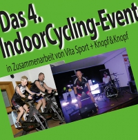 Das 4. IndoorCycling Event